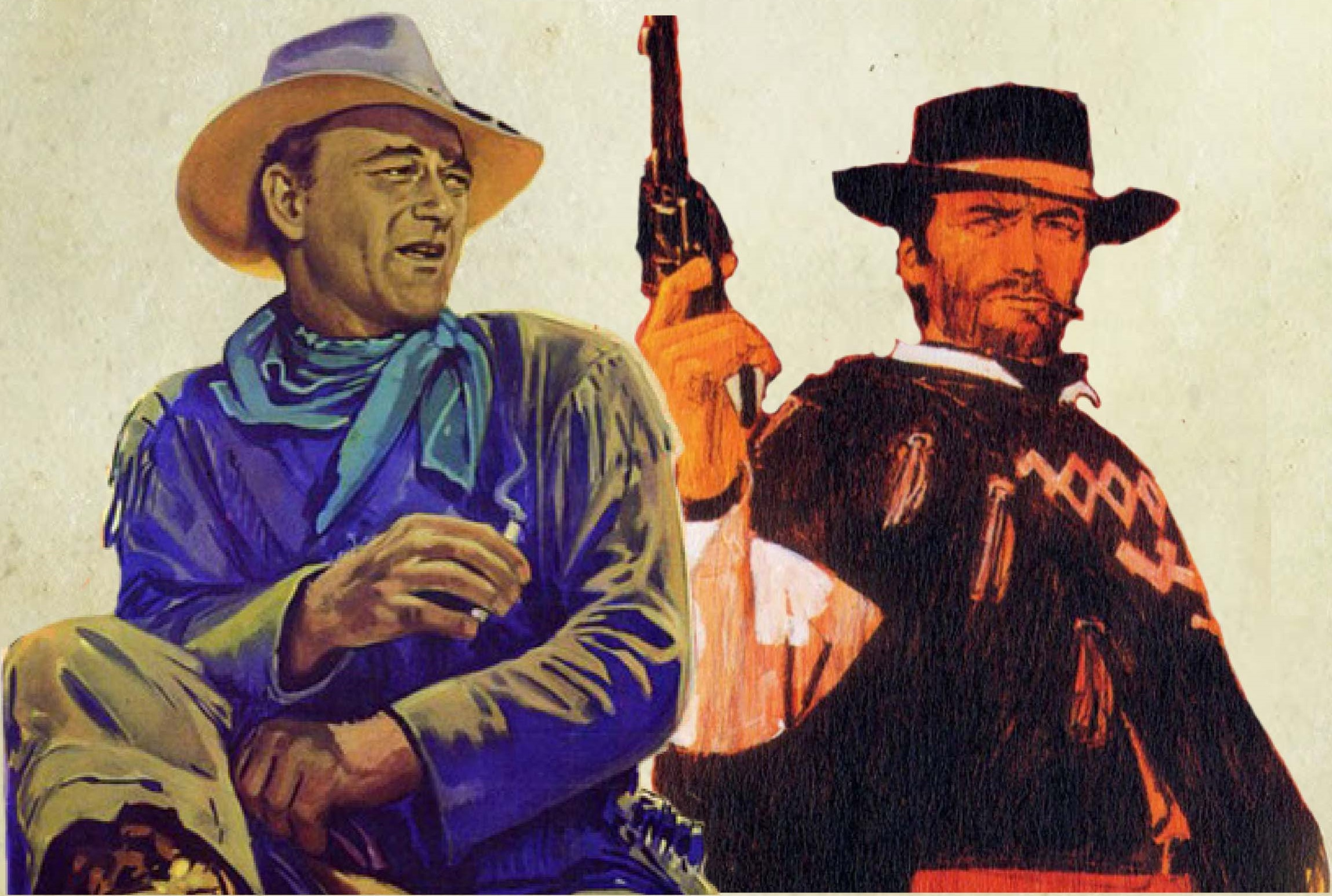 Clinton 'Clint' Eastwood vs John 'The Duke' Wayne